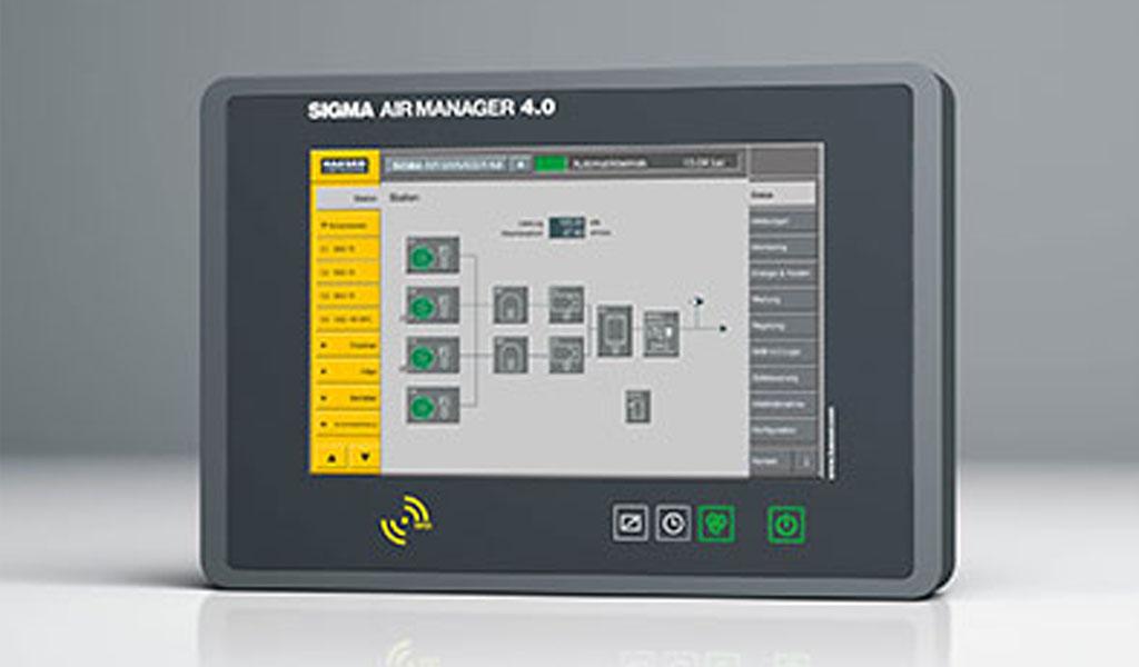 El servicio Sigma Smart Air de Kaeser