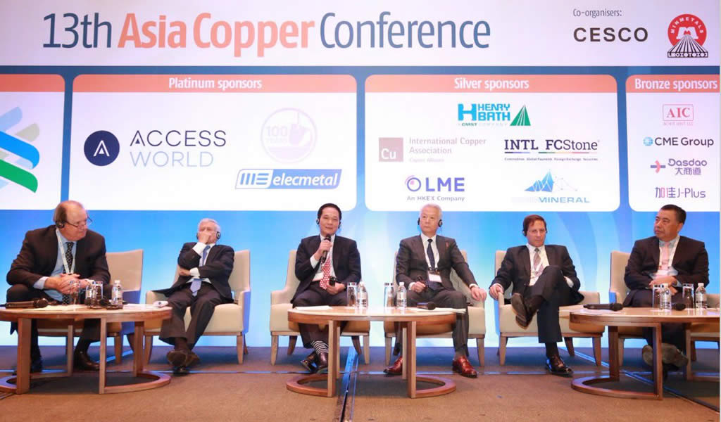 Asia Copper Conference reafirma visión optimista para el cobre