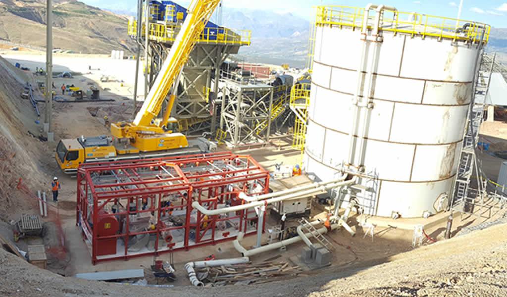 PENTATECH presente en las grandes obras mineras