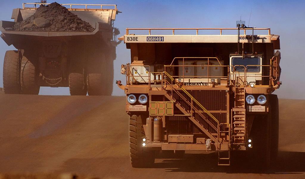 Peso de la minería en el PIB sube a 9% en 2017, pero se mantiene bajo cifras históricas