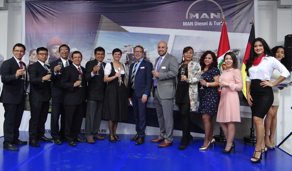 MAN DIESEL & TURBO refuerza sus operaciones en Perú