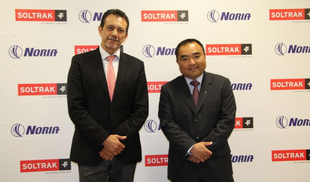 Soltrak y Noria se unen para ampliar conocimientos en gestión de lubricación en Perú