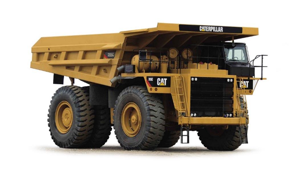 Kit de adaptación de combustible dual para Cat 785C