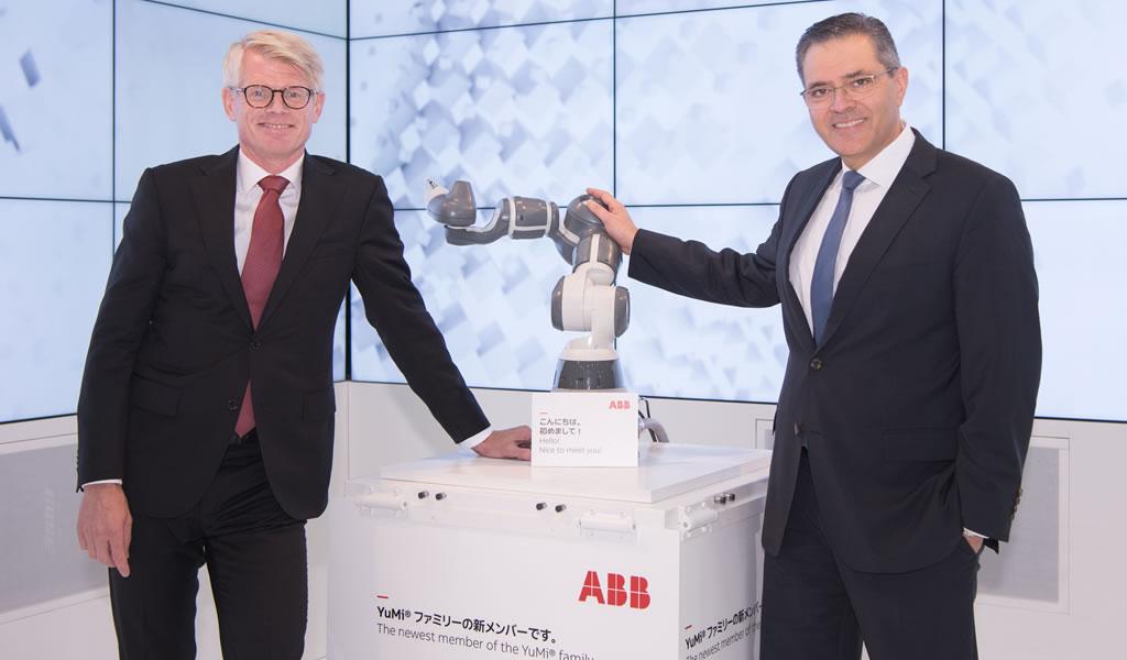ABB presenta al nuevo miembro de la familia YuMi