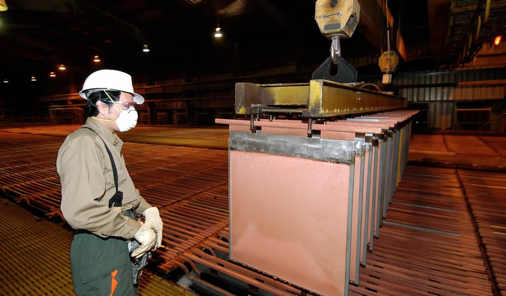 Precio del cobre subirá más de 25%, prevé Pan Pacific