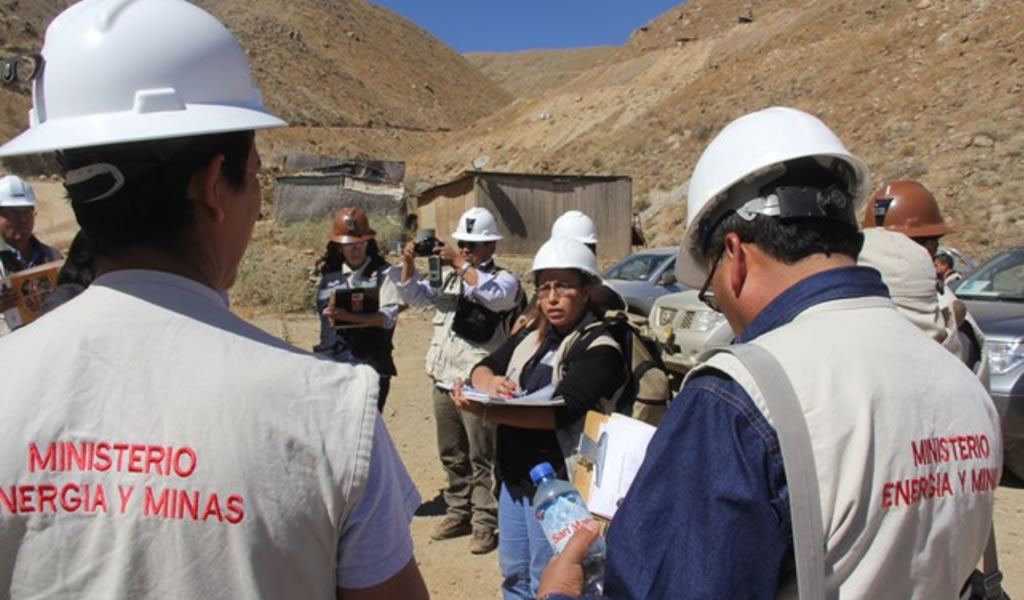 MEM destinó más de S/ 3 millones para formalización minera