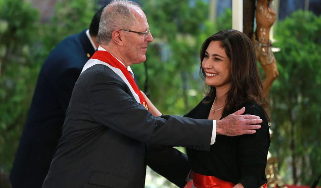 Angela Grossheim juró como nueva ministra de Energía y Minas