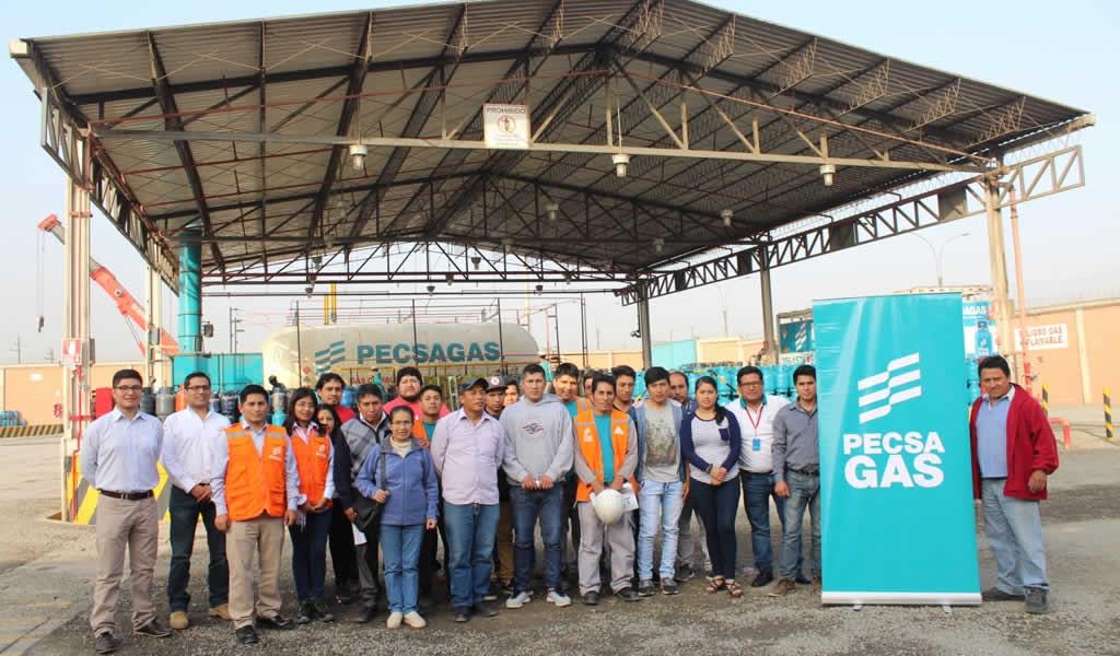 PECSA capacitó en el 2017 a más de 80 distribuidores en formalización y seguridad en el manejo de balones de GLP