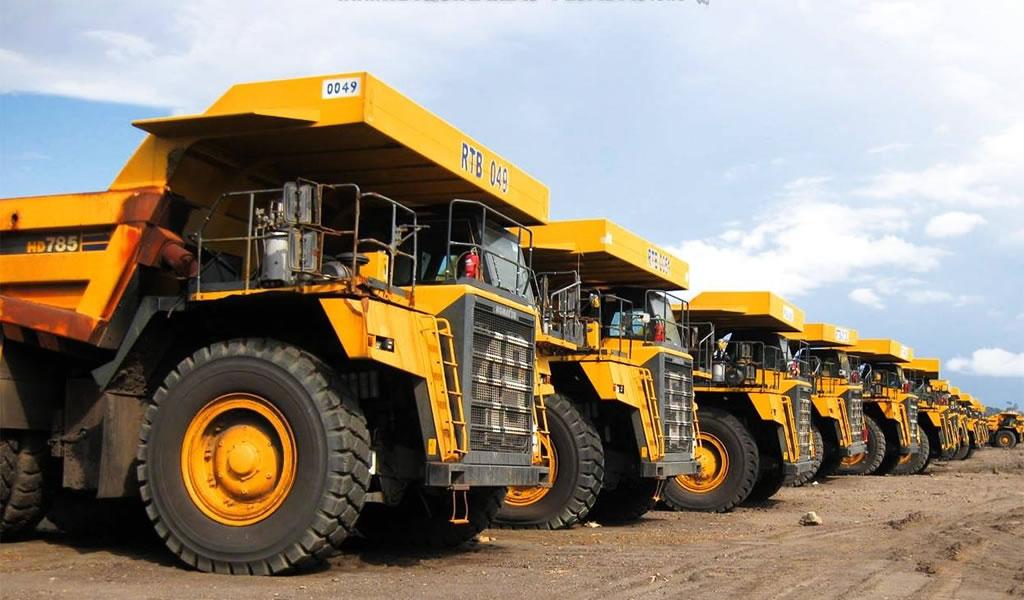 Proveedoras de maquinarias esperan crecer por reactivación minera