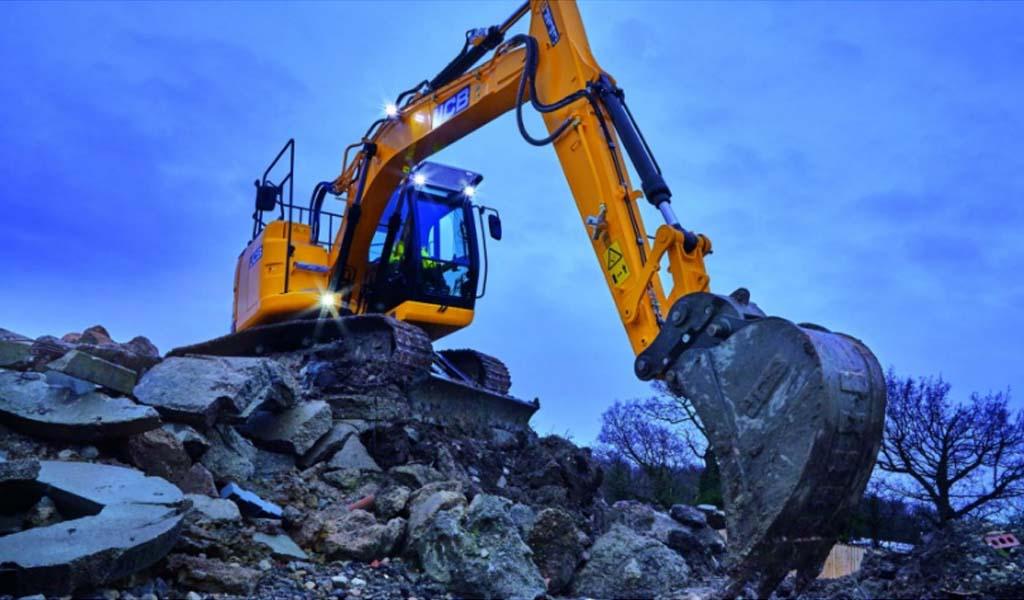 La excavadora JCB JZ141 estrena en Norteamérica