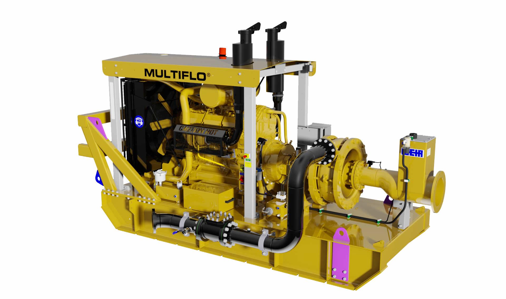 Weir Minerals lanza nueva bomba de dewatering Multiflo® RF