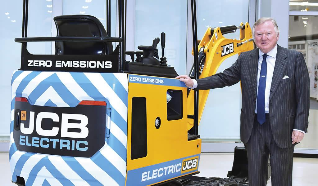 JCB enciende el interés con su primera miniexcavadora eléctrica.