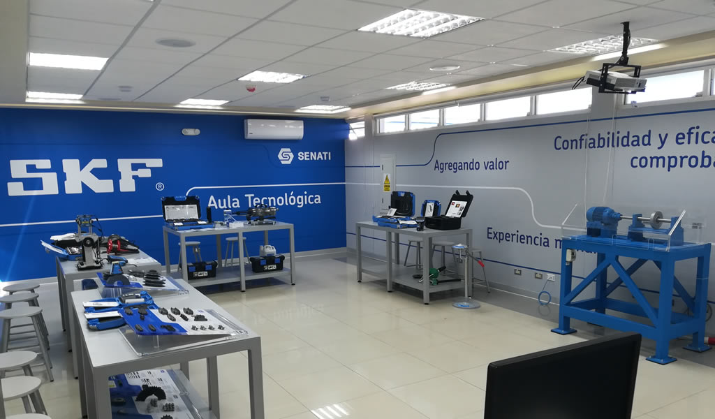 SKF inaugura Aula Tecnológica en SENATI