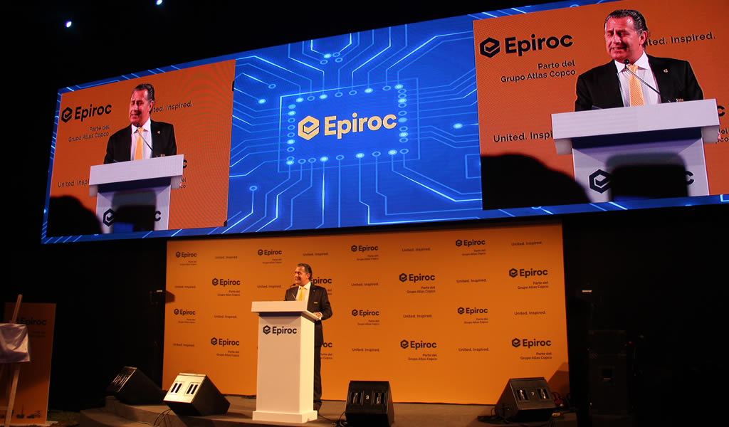 EPIROC apuesta por la innovación tecnológica y seguridad para fortalecer su ingreso al mercado minero peruano