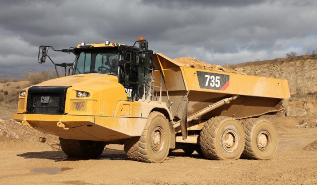 Cat refina el diseño de sus  camiones articulados