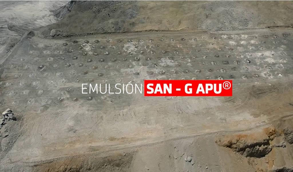 FAMESA presenta SAN-G APU, innovación Eco-amigable para la minería de tajo abierto