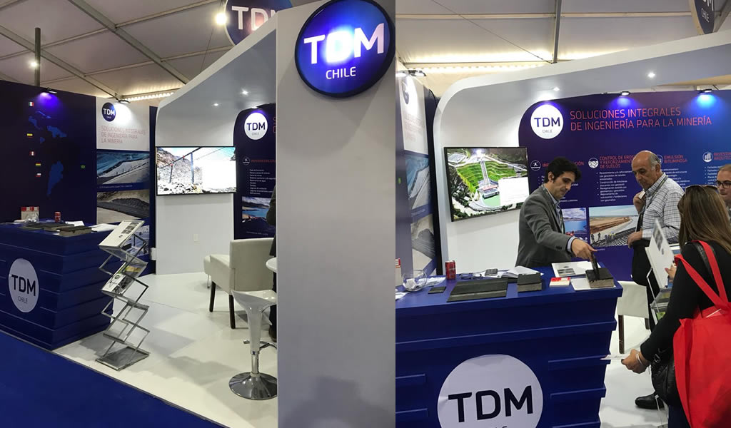 Grupo TDM presente en Expomin 2018