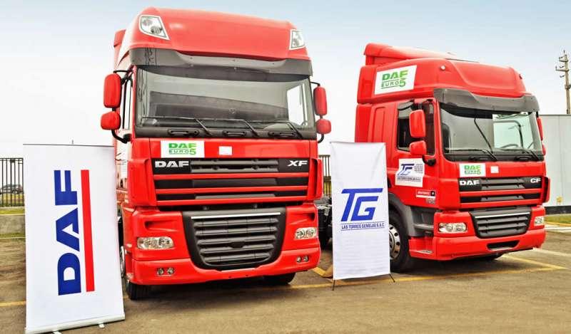 Llegan al Perú los camiones EURO 5 de DAF