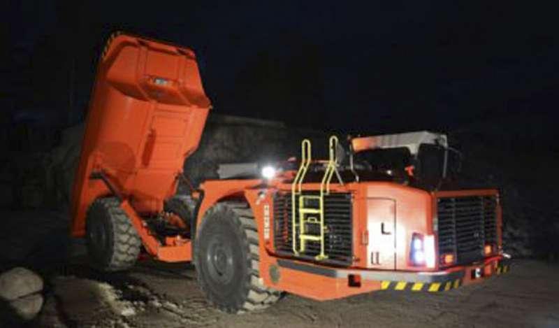 Sandvik TH545i, última incorporación a la gama de camiones inteligentes