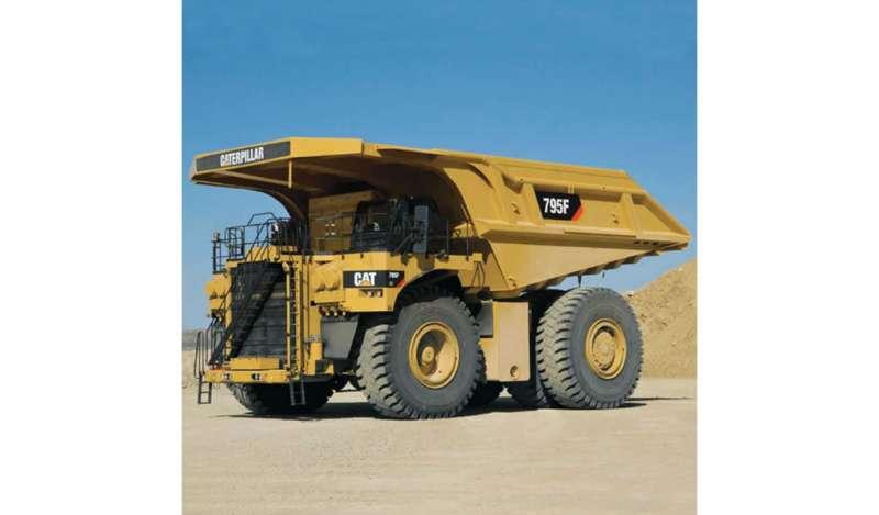 CATERPILLAR - 795F AC / 795F AC HAA Camión para Minería Caterpillar.