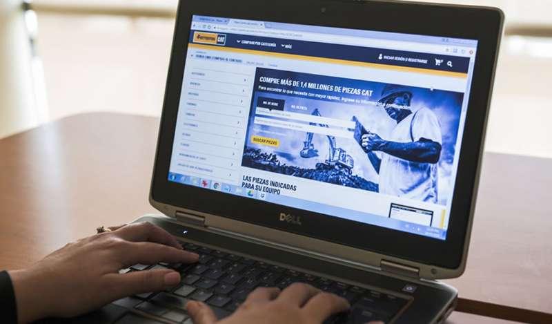 Ferreyros triplica ventas de repuestos a través de Internet