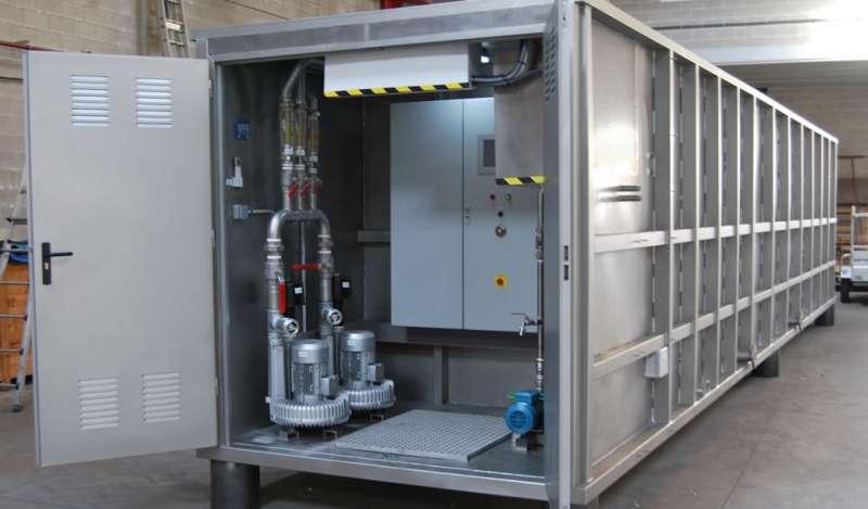 OZ Perú presenta sus equipos modulares para el tratamiento de agua
