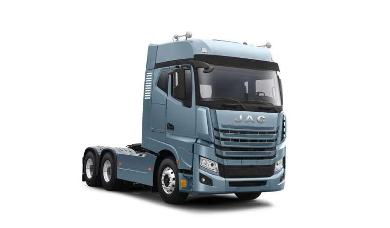 JAC presente en el Perú Cargo Week con su tracto camión más potente