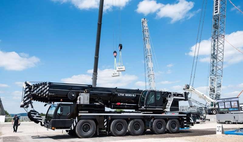 Liebherr presenta la nueva LTM 1230 - 5.1