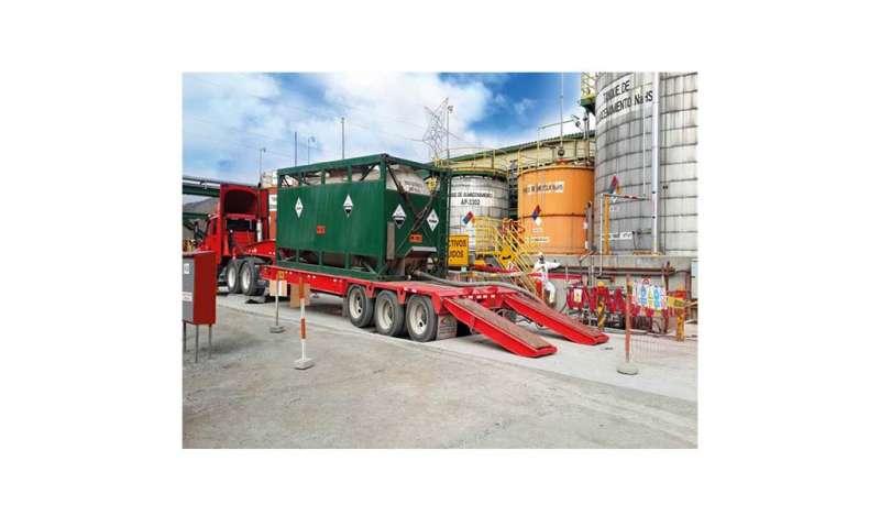 CORPORACIÓN PETROLERA S.A.C. - Transporte de materiales peligrosos