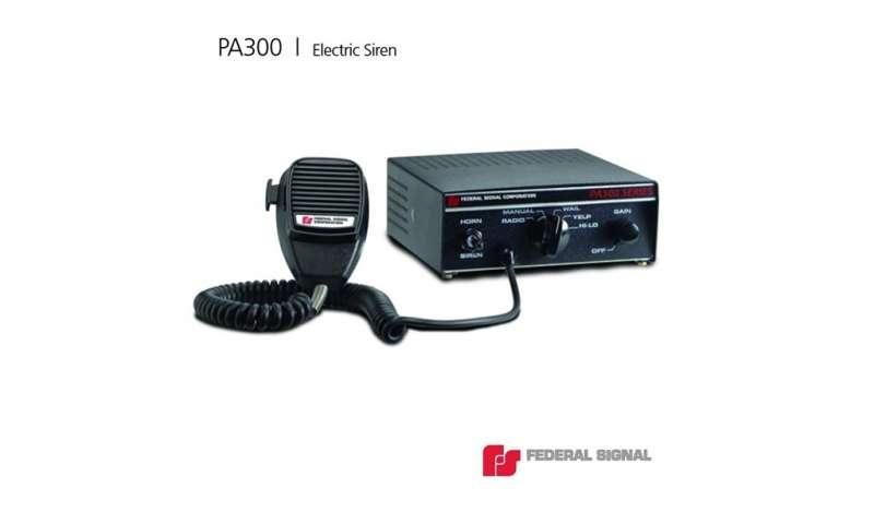 BERSSAC - Sirena Electrónica PA300 Series