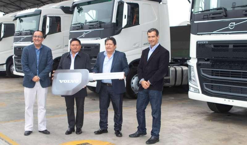20 camiones Volvo FH potenciarán la operación de Transportes Toñito S.A.C.
