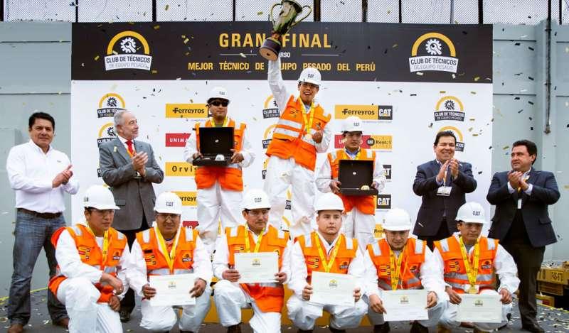 """Concurso """"El Mejor Técnico de Equipo Pesado del Perú"""" tiene nuevo ganador"""