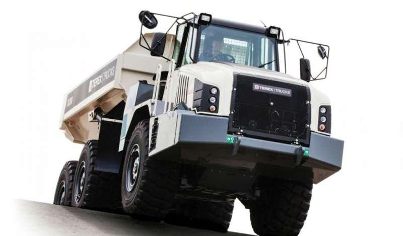Aumento de la eficiencia del combustible en la actualización del camión articulado Terex