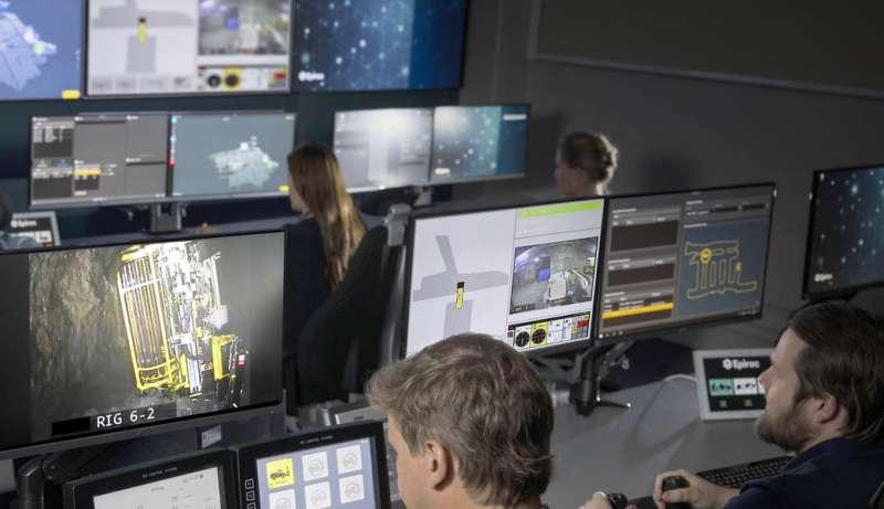Epiroc toma el control de la digitalización con nuevas instalaciones