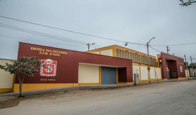 Inauguran colegio en La Libertad con obras por impuestos de Ferreyros