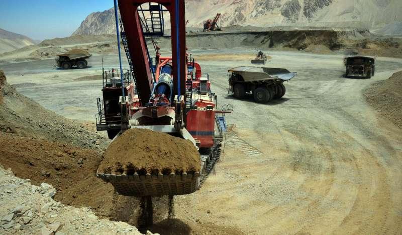 Inversiones mineras de Chile contempla 44 proyectos para el decenio 2018-27 por US$65.747M