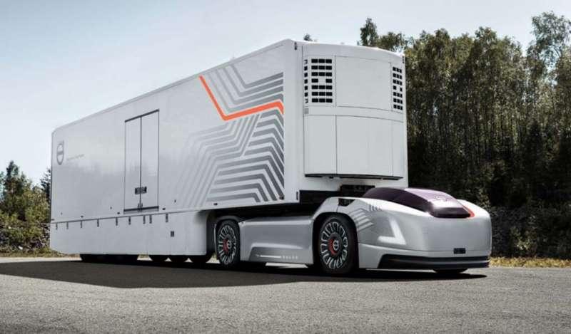 La futura solución de transporte de Volvo Trucks se centra en los vehículos eléctricos autónomos