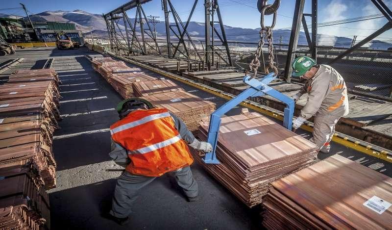 Cobre y zinc trepan por aranceles entre EE.UU.-China menores a lo esperado