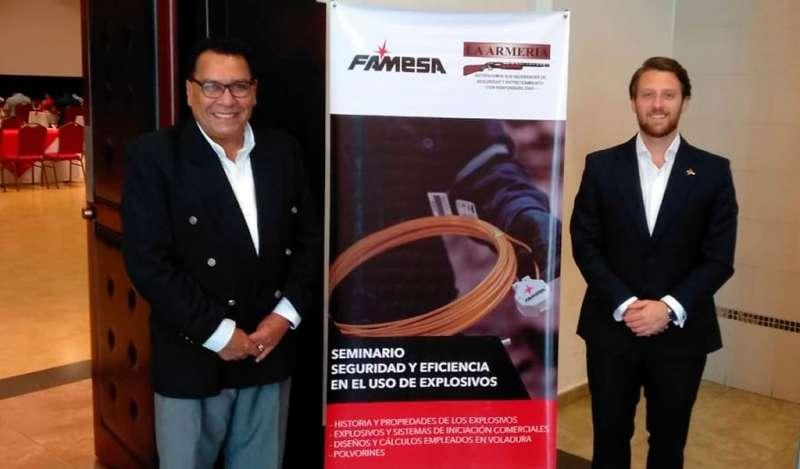 FAMESA EXPLOSIVOS desarrolla seminario de seguridad en Honduras