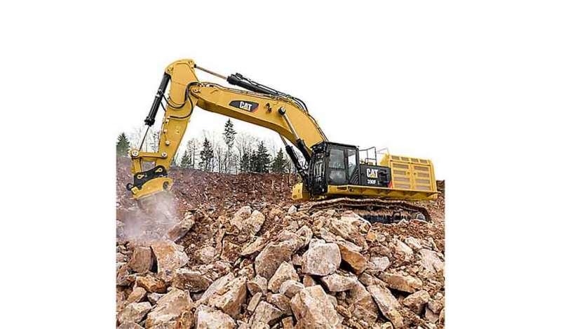 CATERPILLAR - 390F L Excavadores de Orugas Caterpillar