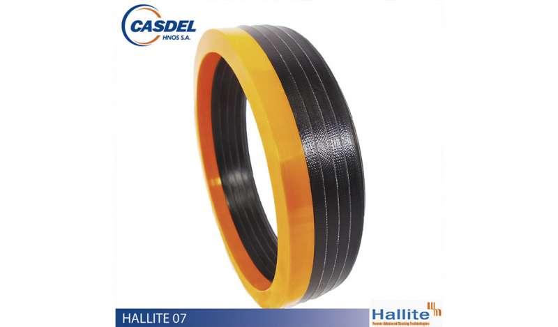 CASDEL - Sello Hidráulico HALLITE 07