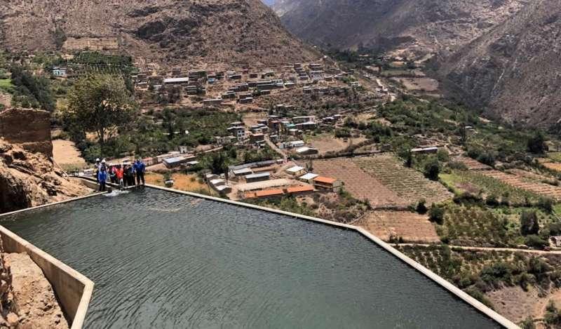 Inauguran proyecto de irrigación ejecutada por Antamina a través del mecanismo de Obras por Impuestos en Huayllacayán