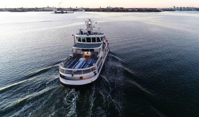ABB permite una prueba innovadora de un ferry de pasajeros operado a distancia
