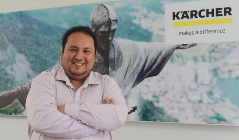 Kärcher Perú designa a César Campos como Gerente de Ventas de Línea Profesional