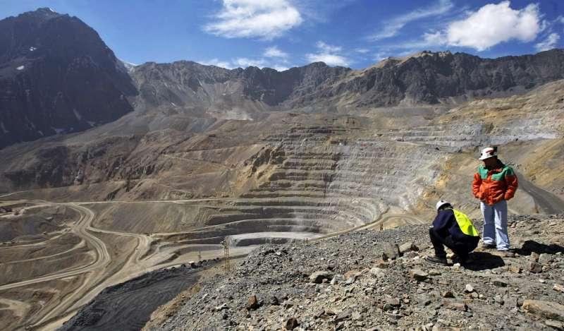 Chile: Concesiones mineras rompen tendencia y crecen por primera vez en 4 años