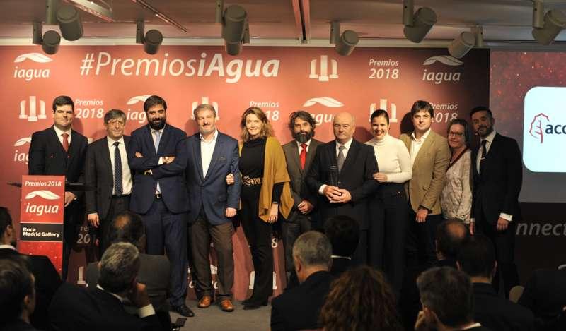 Acciona Agua gana el premio iAgua a la mejor empresa del sector