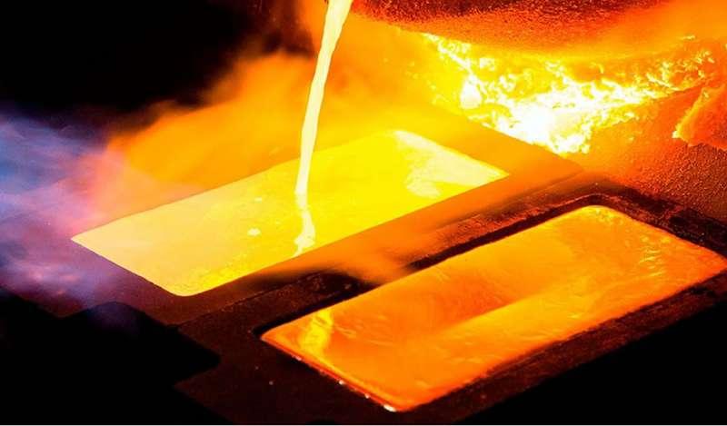 Oro sube tras débil dato comercial chino que reactivó preocupación por crecimiento