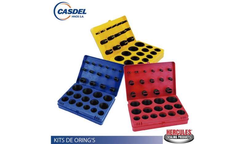 CASDEL - KIT DE O-RING