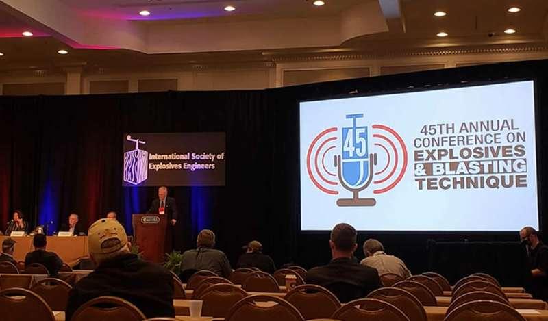 FAMESA estuvo presente en la conferencia de explosivos más importante del mundo