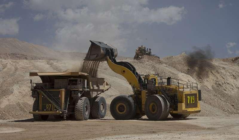 Producción nacional de cobre, plomo, hierro y estaño creció en diciembre